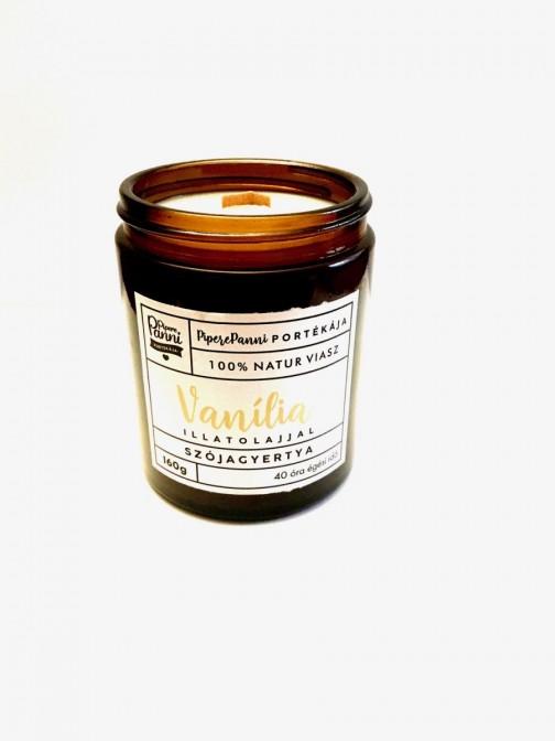 Szójagyertya vanília illattal nagy