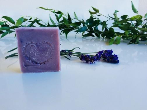 Csomagolásmentes, pálmaolajmentes levendulás szappan