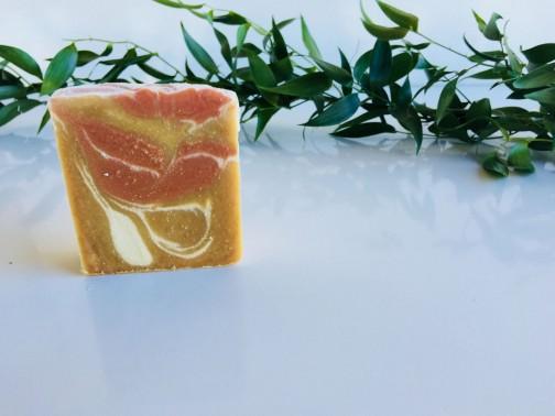 Új Mézes- gyömbéres szappan
